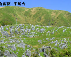 小倉南区「平尾台」の写真